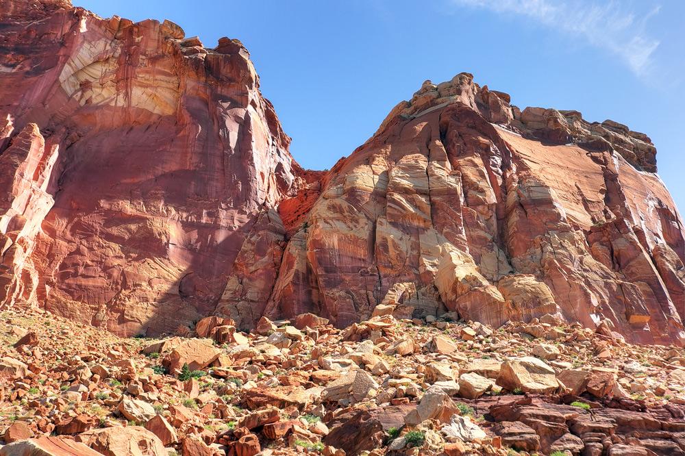 """фото """"Каменная стена"""" метки: пейзаж, Северная Америка, горы"""