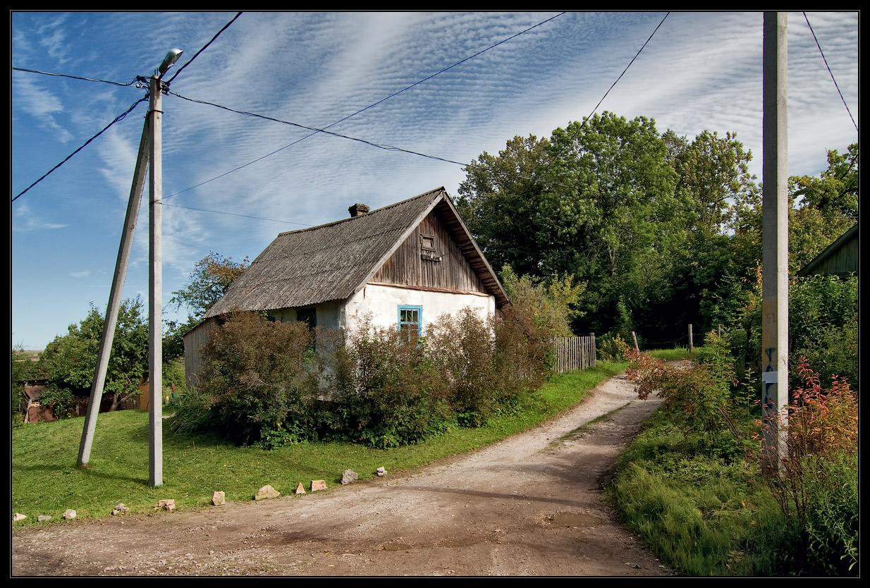 """фото """"Дом на перекрестке дорог"""" метки: архитектура, пейзаж,"""