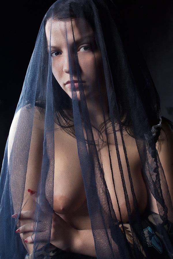 """фото """"***"""" метки: ню, портрет, вдова, девушка, модель, молитва"""