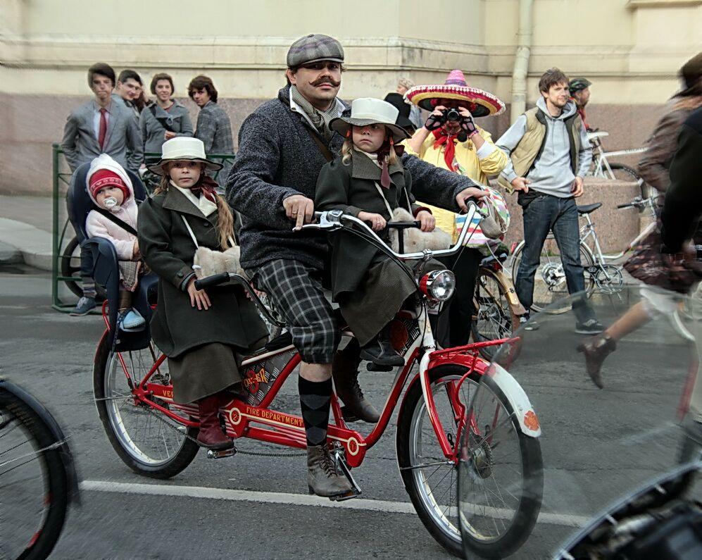 """фото """"Твидовый веловояж"""" метки: репортаж, велосипеды"""