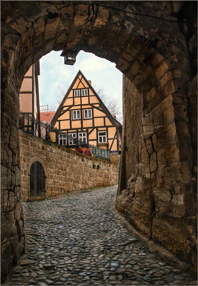 """фото """"Переход в другое время"""" метки: разное, город, foto liubos, Европа, германия, кведлинбург"""