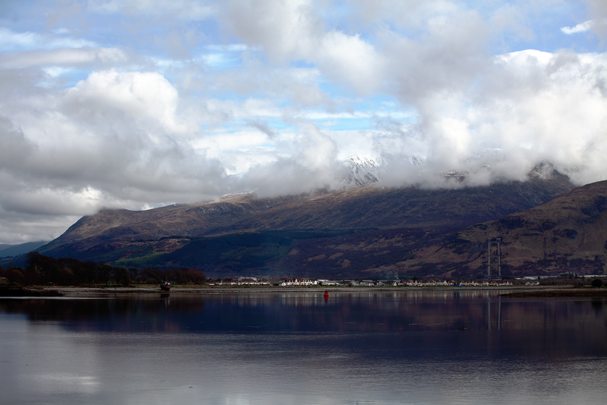 "фото ""Corpach. Scotland."" метки: пейзаж,"