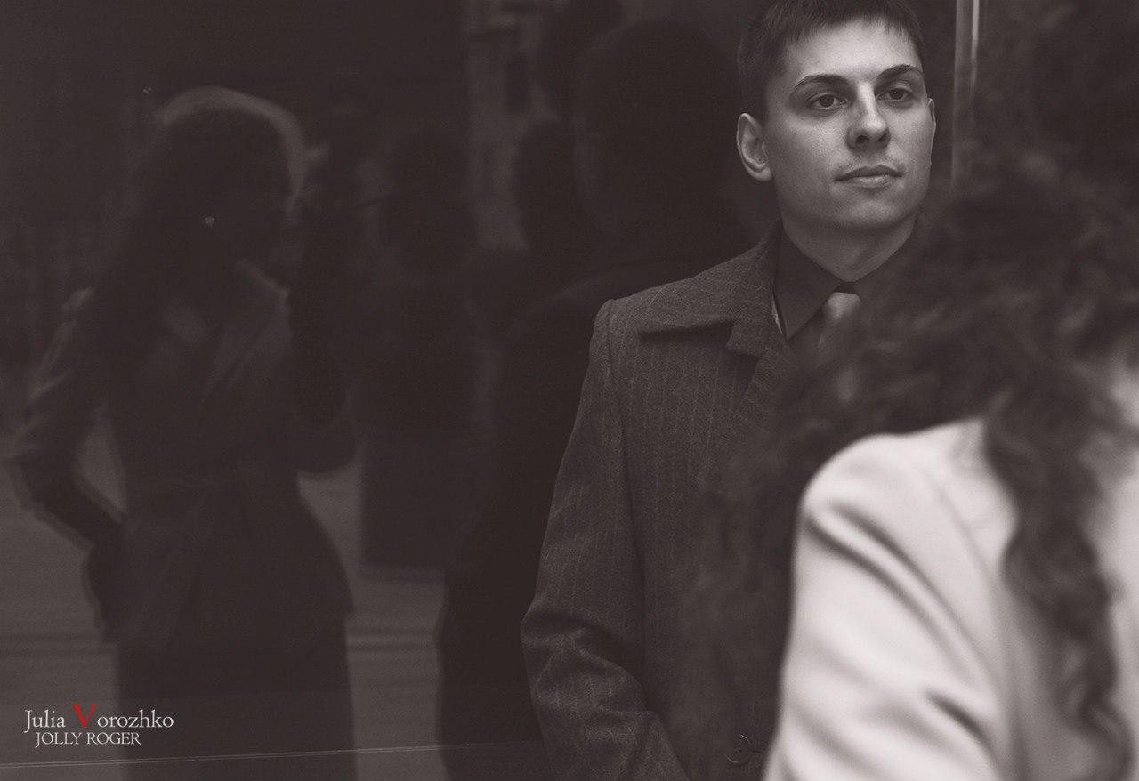 """фото """"Мы странно встретились,  и странно расстаёмся..."""" метки: черно-белые,"""