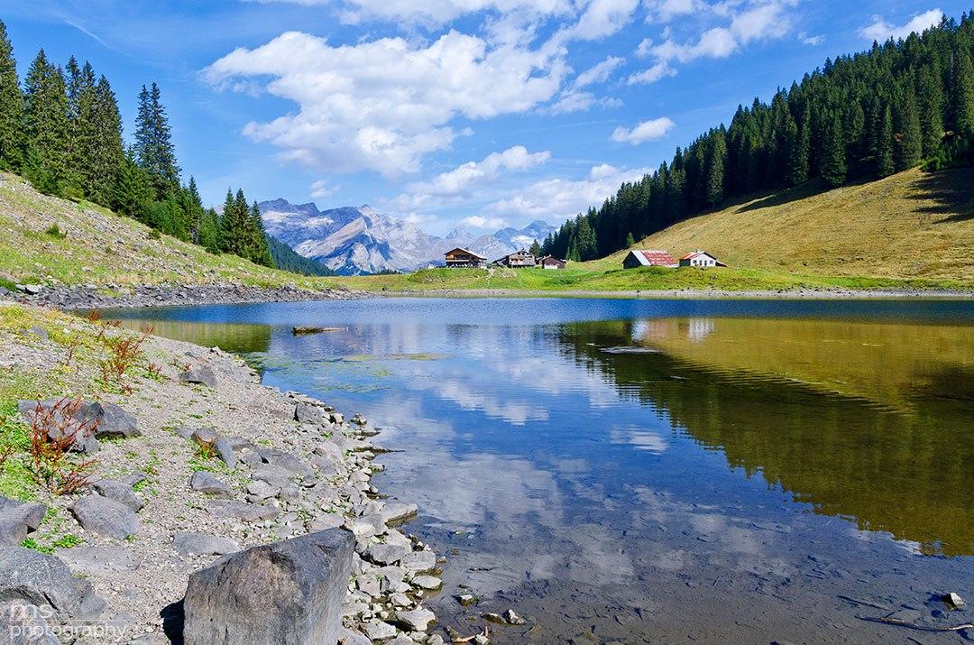 """фото """"***"""" метки: пейзаж, природа, Europe, sun, горы, облака, осень"""