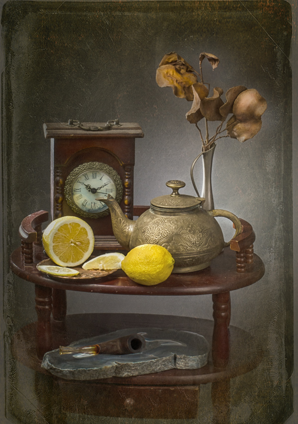 "photo ""Time for tea"" tags: still life, old-time,"