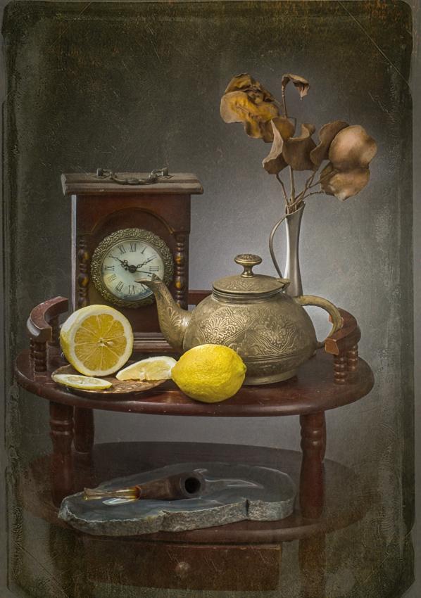 """фото """"Время для чая"""" метки: натюрморт, ретро,"""
