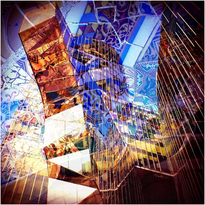 """фото """"Barcelona."""" метки: архитектура, фотомонтаж, город,"""