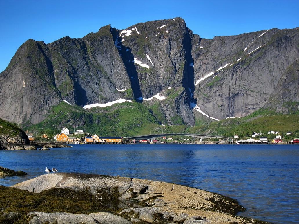 "фото ""Рейне"" метки: пейзаж, Лофотенские острова, Норвегия"