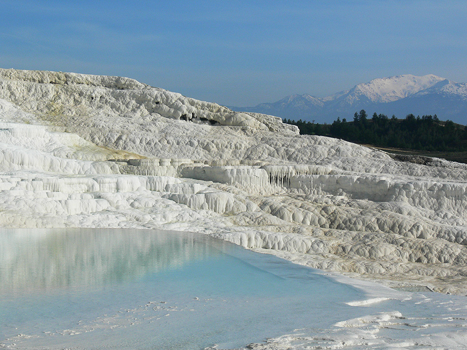 "photo ""Pamukkale"" tags: landscape, travel, reporting,"