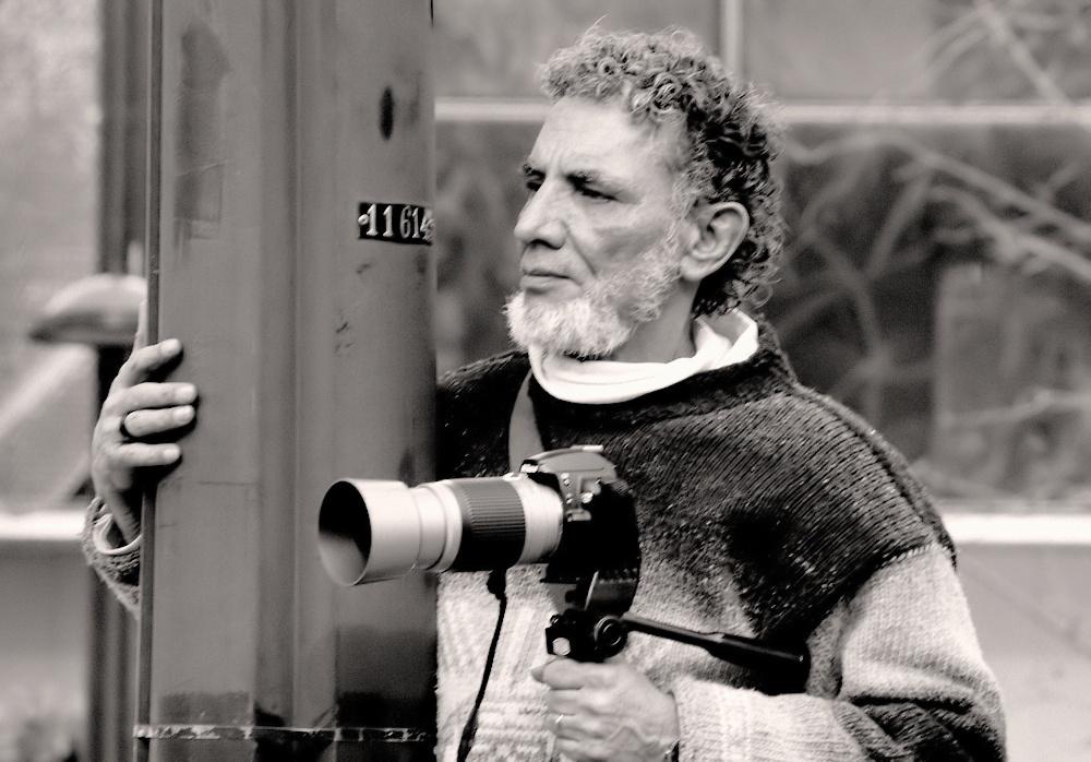 """фото """"""""Waiting for... the best shot..."""""""" метки: портрет, черно-белые, стрит-фото,"""
