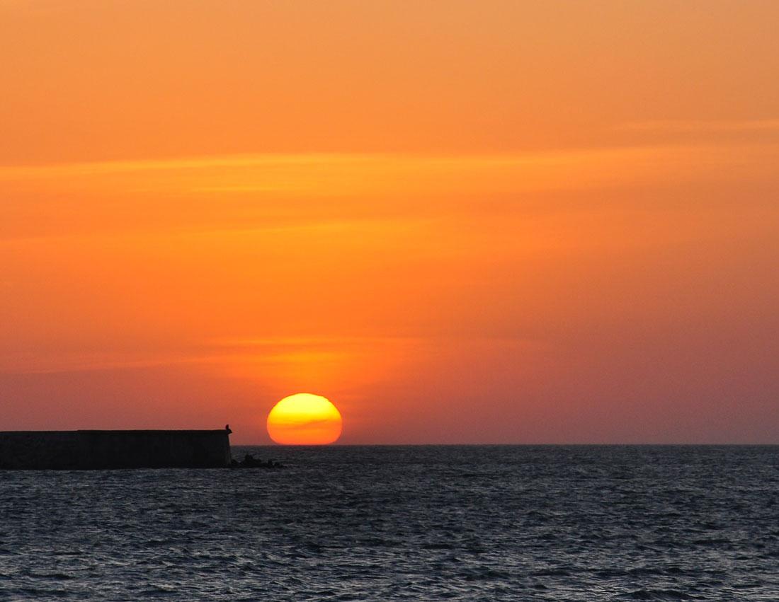 """фото """"Ложилось солнце почивать"""" метки: пейзаж, закат, море"""
