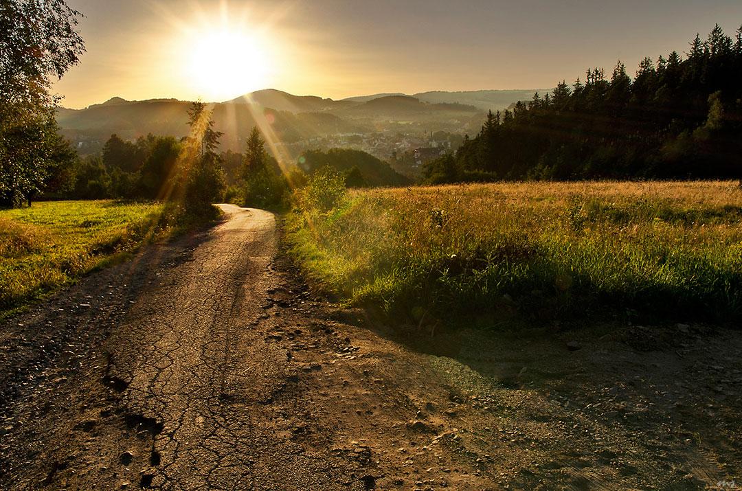"""фото """"***"""" метки: пейзаж, природа, Europe, summer, горы, закат"""