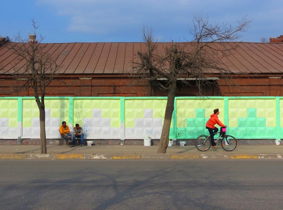 """фото """"Раз - краска, два - сказка!"""" метки: стрит-фото, жанр, город,"""