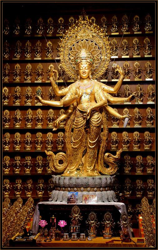 "фото ""Золотой Будда"" метки: путешествия, интерьер, Будда золото"