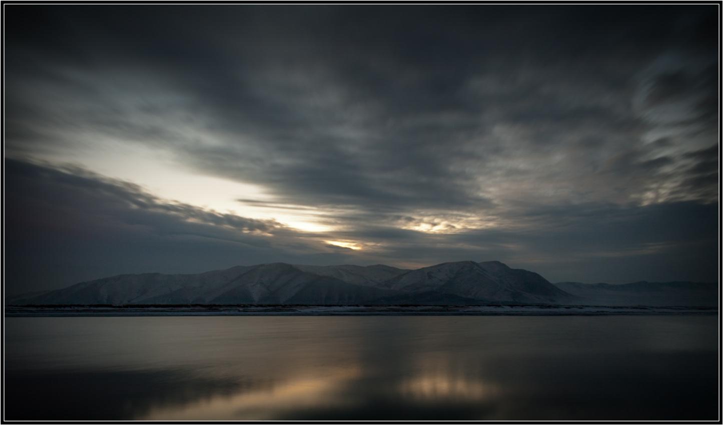 """фото """"Холодный рассвет..."""" метки: природа, пейзаж,"""