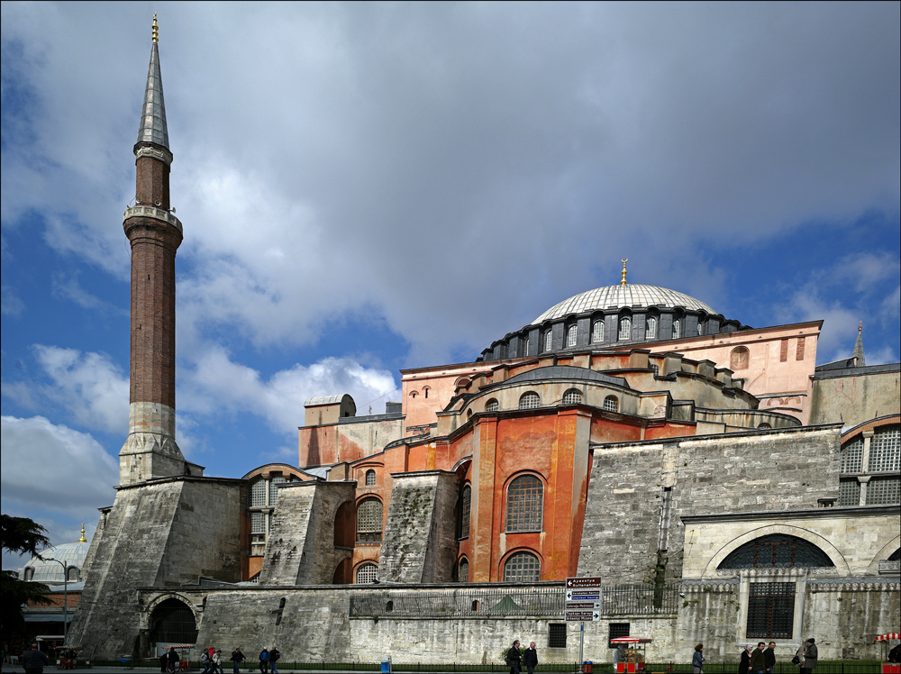 "photo ""Hagia Sofia"" tags: architecture, landscape, Стамбул, Турция"