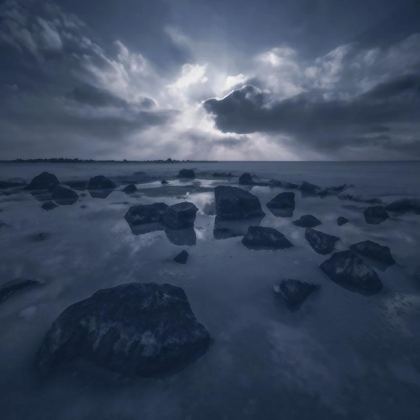 """фото """"Первый лед"""" метки: digital art, пейзаж,"""