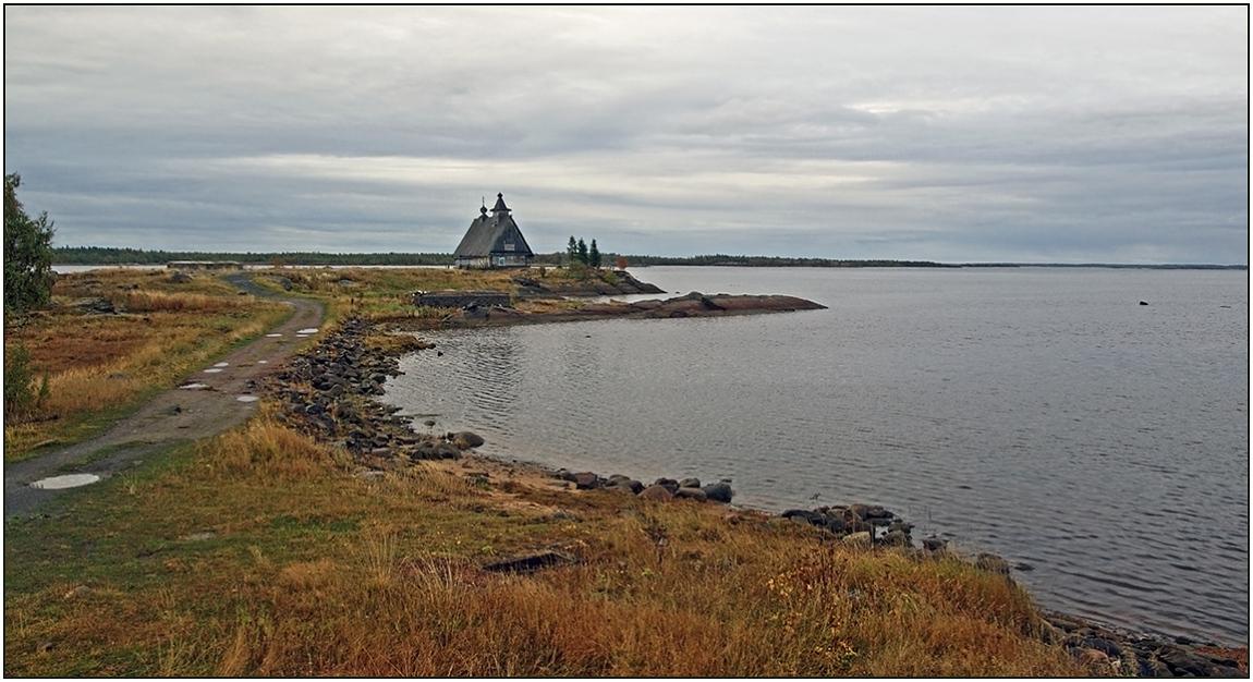 """photo """"White sea in region Kemi"""" tags: landscape, architecture,"""