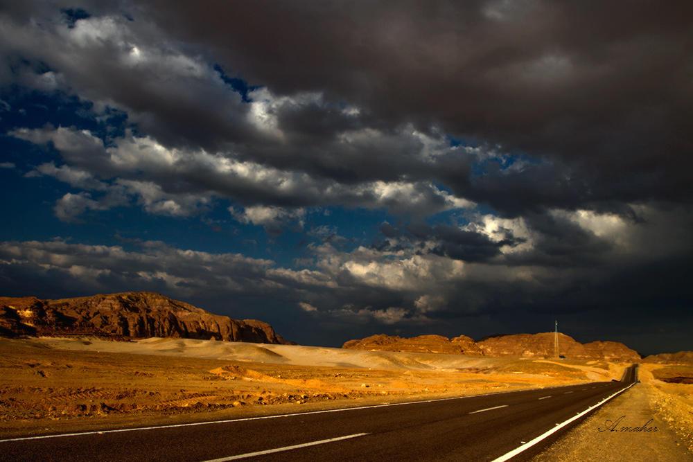 "photo ""THE ROAD"" tags: landscape,"