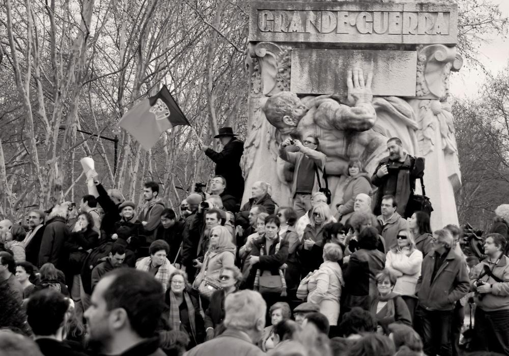 "фото ""Grande Guerra = Great War"" метки: архитектура, черно-белые,"