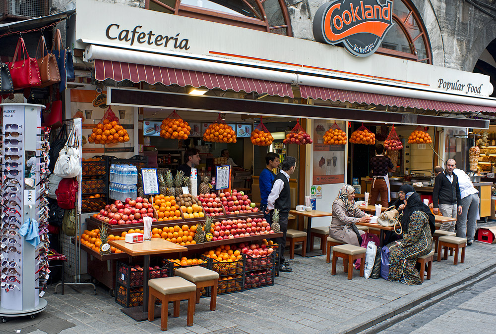 "photo ""Istanbul cafe."" tags: genre, street,"