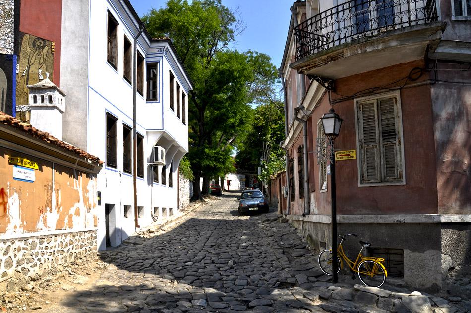 """фото """"Пловдив"""" метки: город, улицы"""