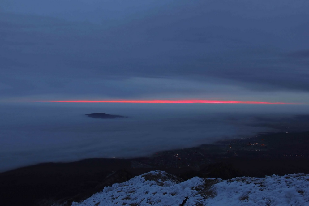 """фото """"***"""" метки: пейзаж, горы, закат, облака, туман"""
