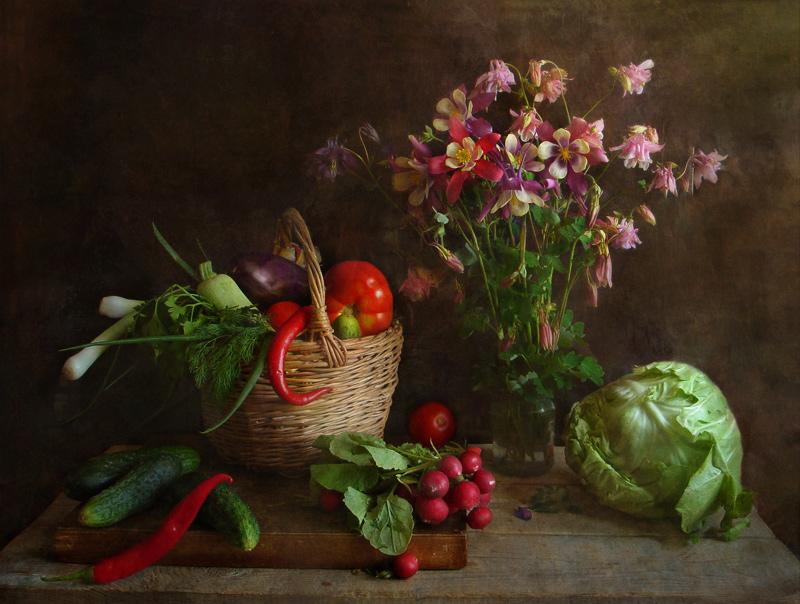 """фото """"Овощи и цветы"""" метки: ,"""