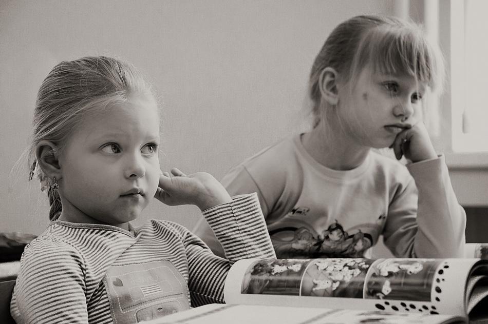 """фото """"Скучный урок (2013)"""" метки: портрет,"""