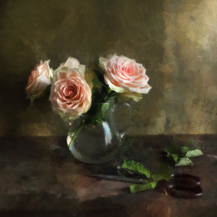 """фото """"В ней отсвет розовый зажжён"""" метки: натюрморт, розы"""