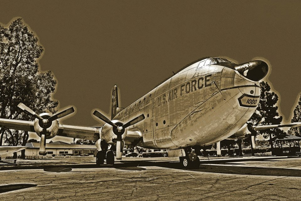 "photo ""Globemaster"" tags: old-time, technics,"