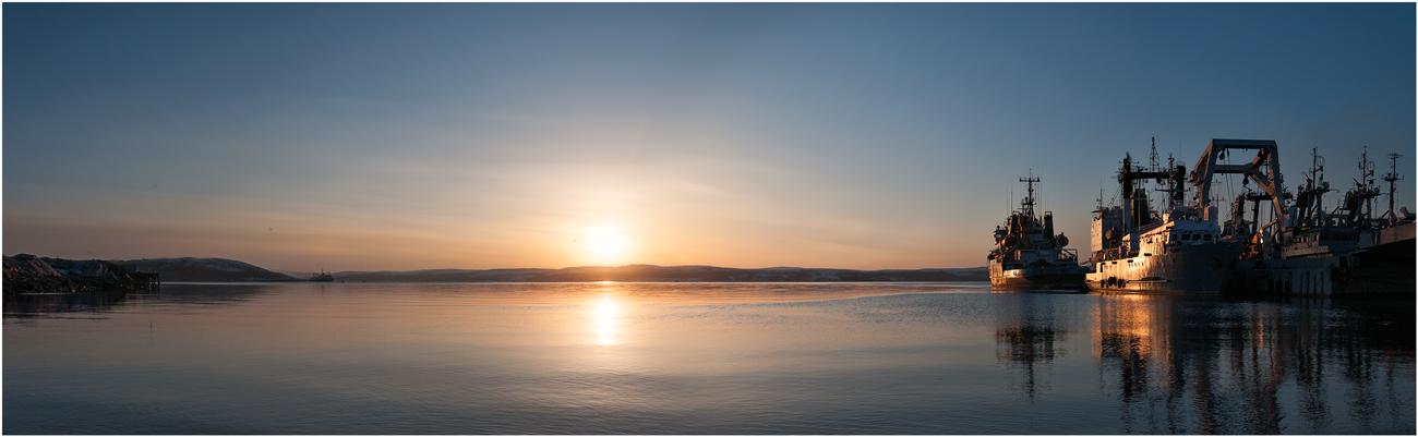 "фото ""Вечер над морем"" метки: пейзаж,"