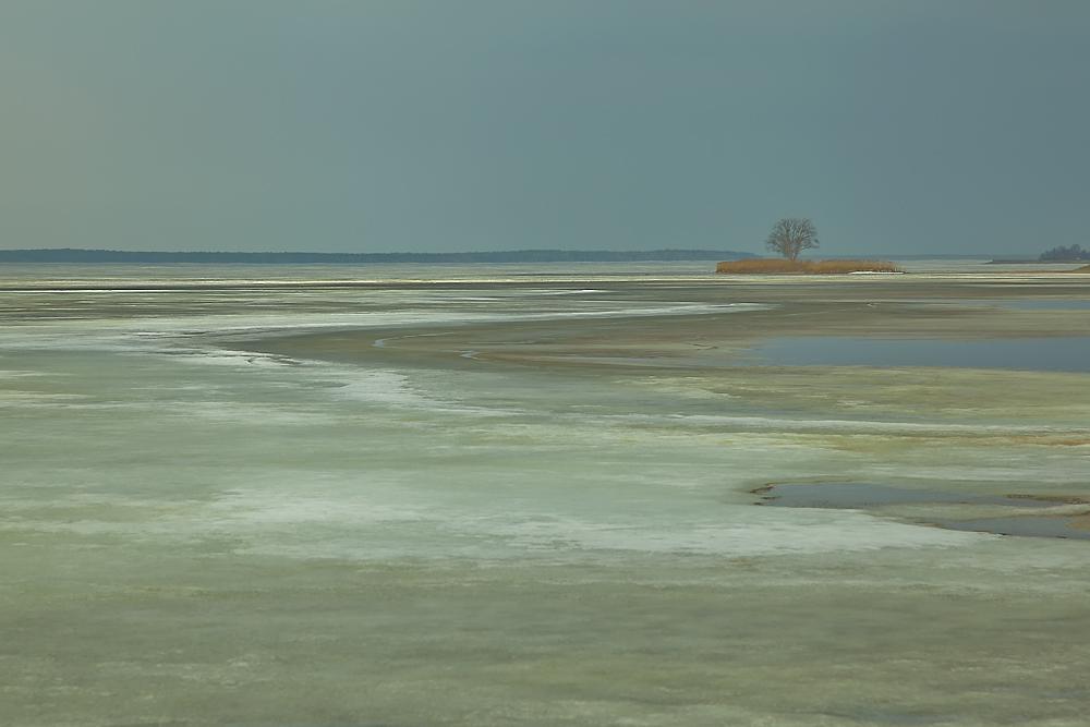 "photo ""***"" tags: landscape, spring, water, Беларусь, Вилейское водохранилище, лед"
