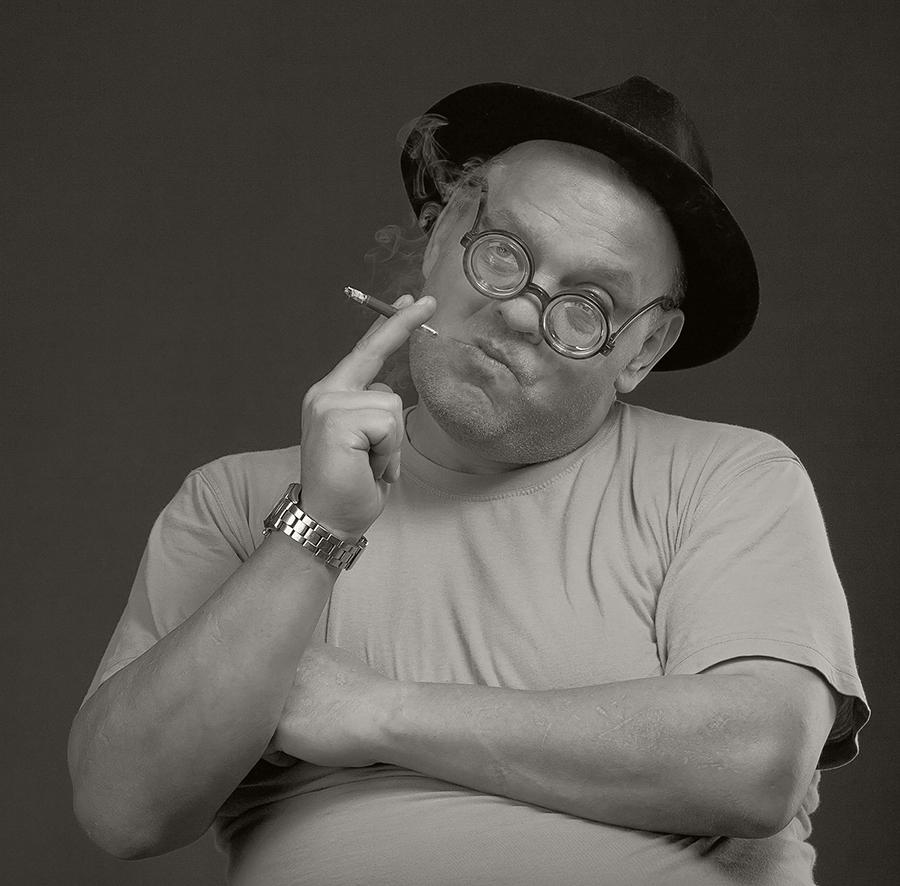 "фото ""Мистер"" метки: портрет, юмор, мужчина"