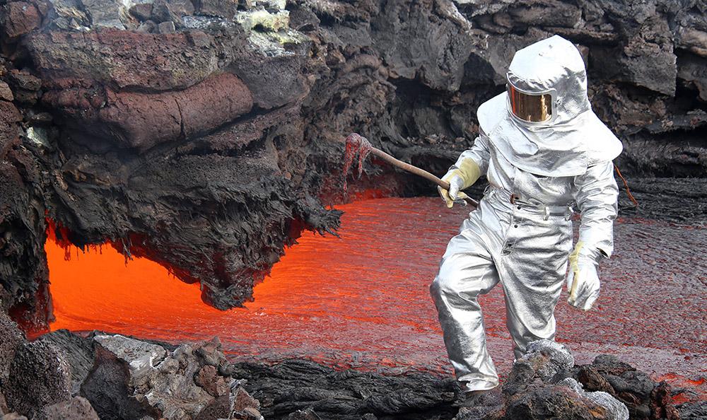 "фото ""Spaceman"" метки: природа, Камчатка, Толбачик, вулкан, извержение, лава"