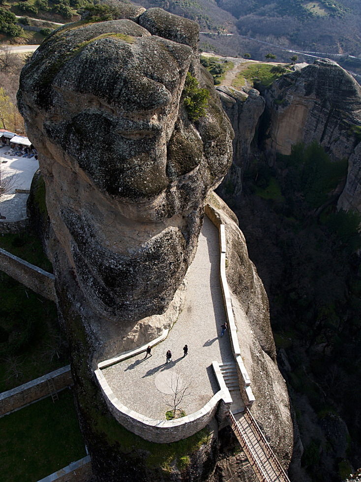 "photo ""Μετέωρα"" tags: landscape, Greece, Meteora"