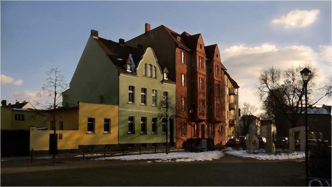 "фото ""Весеннее  солнце.."" метки: город, пейзаж, foto liubos, Европа, бранденбург, весна, германия"