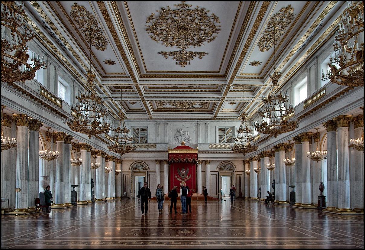 """фото """"Эрмитаж. Тронный зал"""" метки: архитектура, интерьер,"""