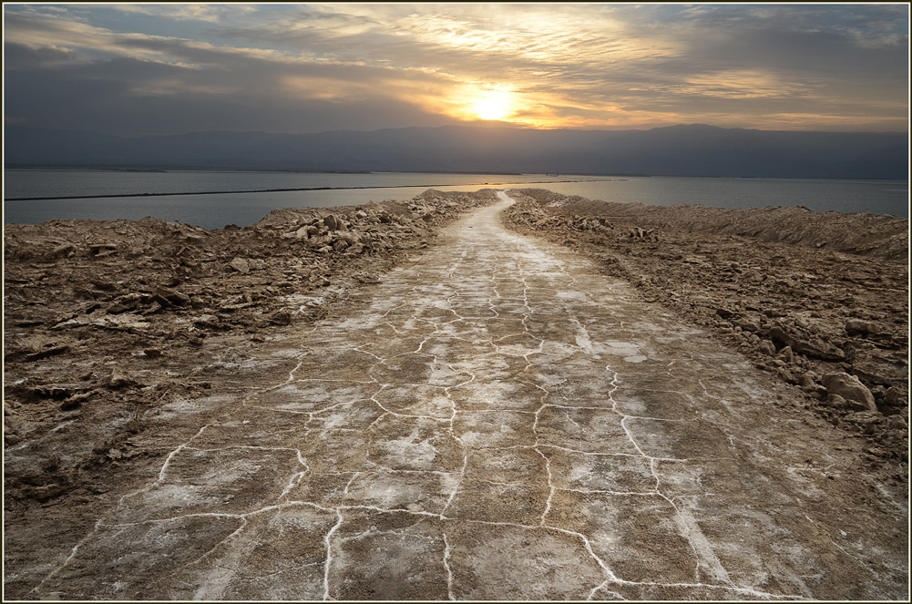 "photo ""утро на Мертвом Море"" tags: landscape, nature,"