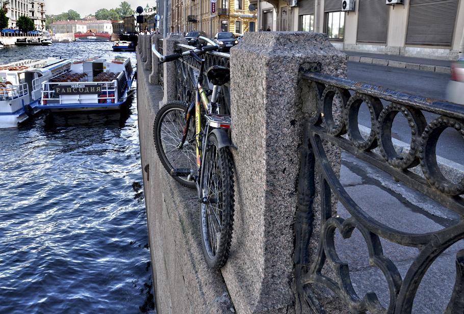 """фото """"велопарковка"""" метки: город, Санкт-Петербург"""