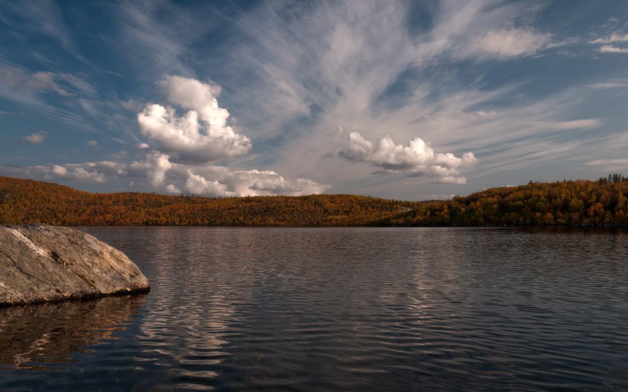 """фото """"Золотая осень в заполярье"""" метки: ,"""