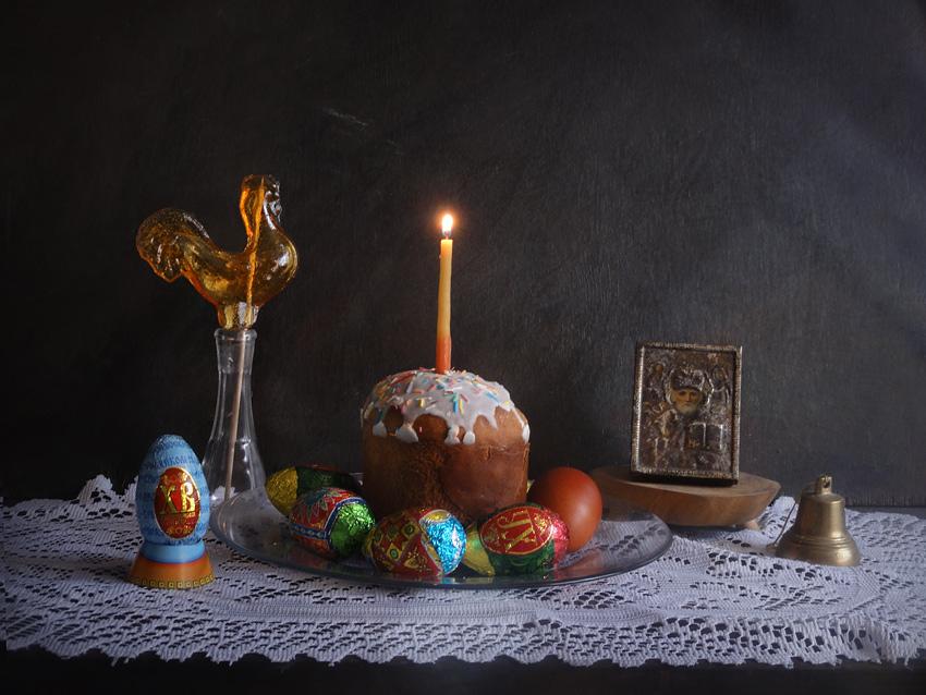 "photo ""***"" tags: still life, Пасха, Свеча"