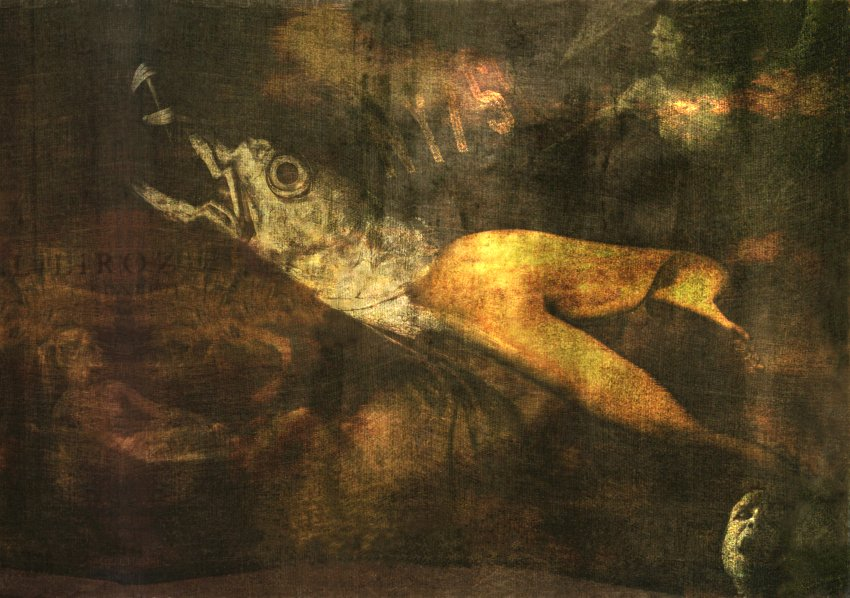 "фото ""SIRENNA"" метки: digital art, Art, Collage, color, dark, digital, nudes, numeric, photomanipulation, surrealist, woman"