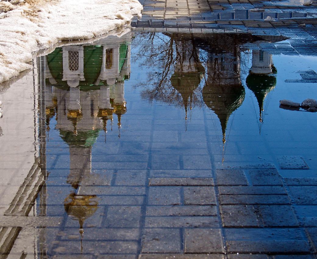 """фото """"Опрокинутая синева"""" метки: город,"""