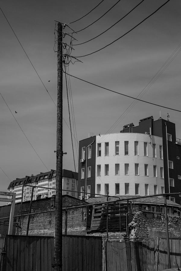 """фото """"Эклектика"""" метки: архитектура, черно-белые, Город, архитектурные выкрутасы"""