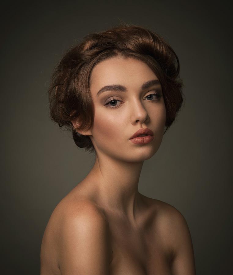 """фото """"Polina"""" метки: портрет, гламур, ретро, AlexeyKazantsev, Portrait, beauty"""
