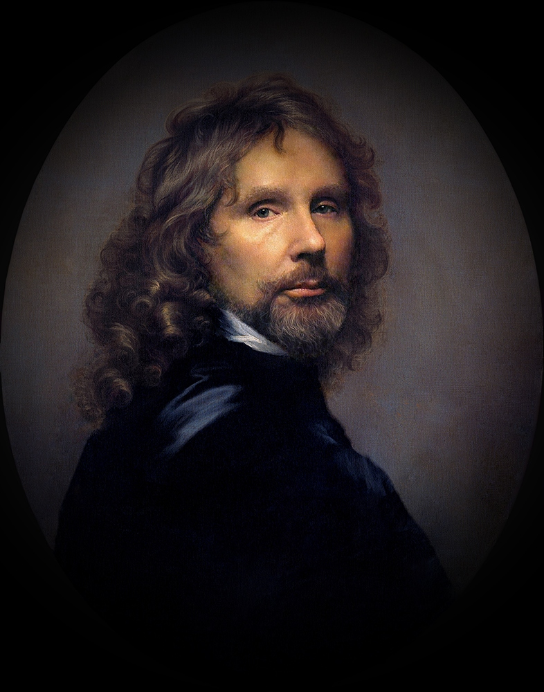 "фото ""Автопортрет из 17- века"" метки: портрет, digital art, фотомонтаж, мужчина"