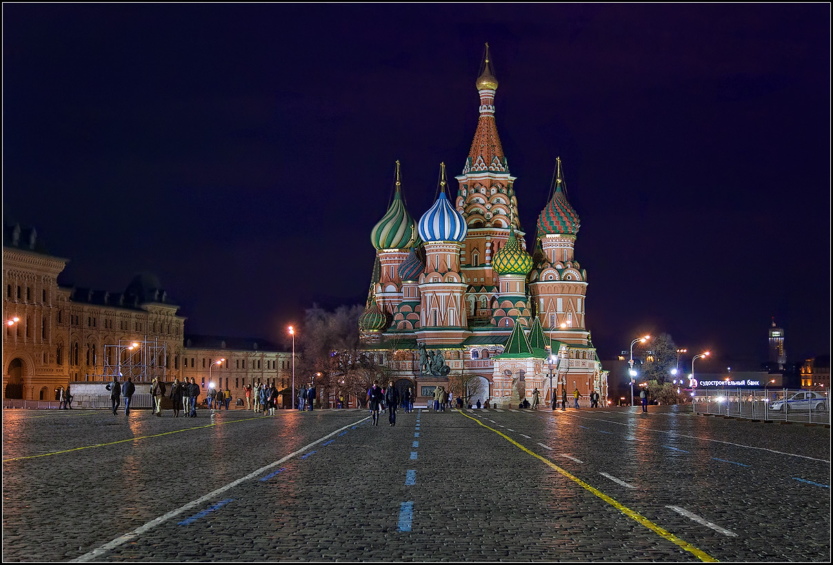 "photo ""Moscow. April 28"" tags: architecture, city,"
