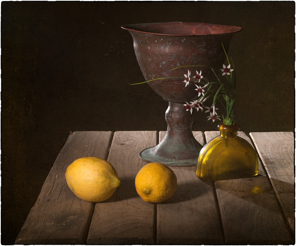 "photo ""with lemons"" tags: still life, old-time, with lemons"