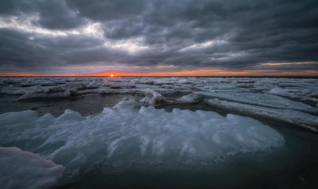 "фото ""Мартовский лед"" метки: пейзаж,"